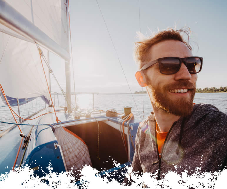 water based skincare for sailors, chafe and rub creams and balms