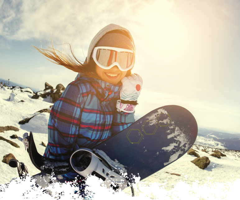 winter skincare protection for snowboarders, lip and hand balms