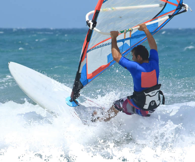 Windsurfer Man