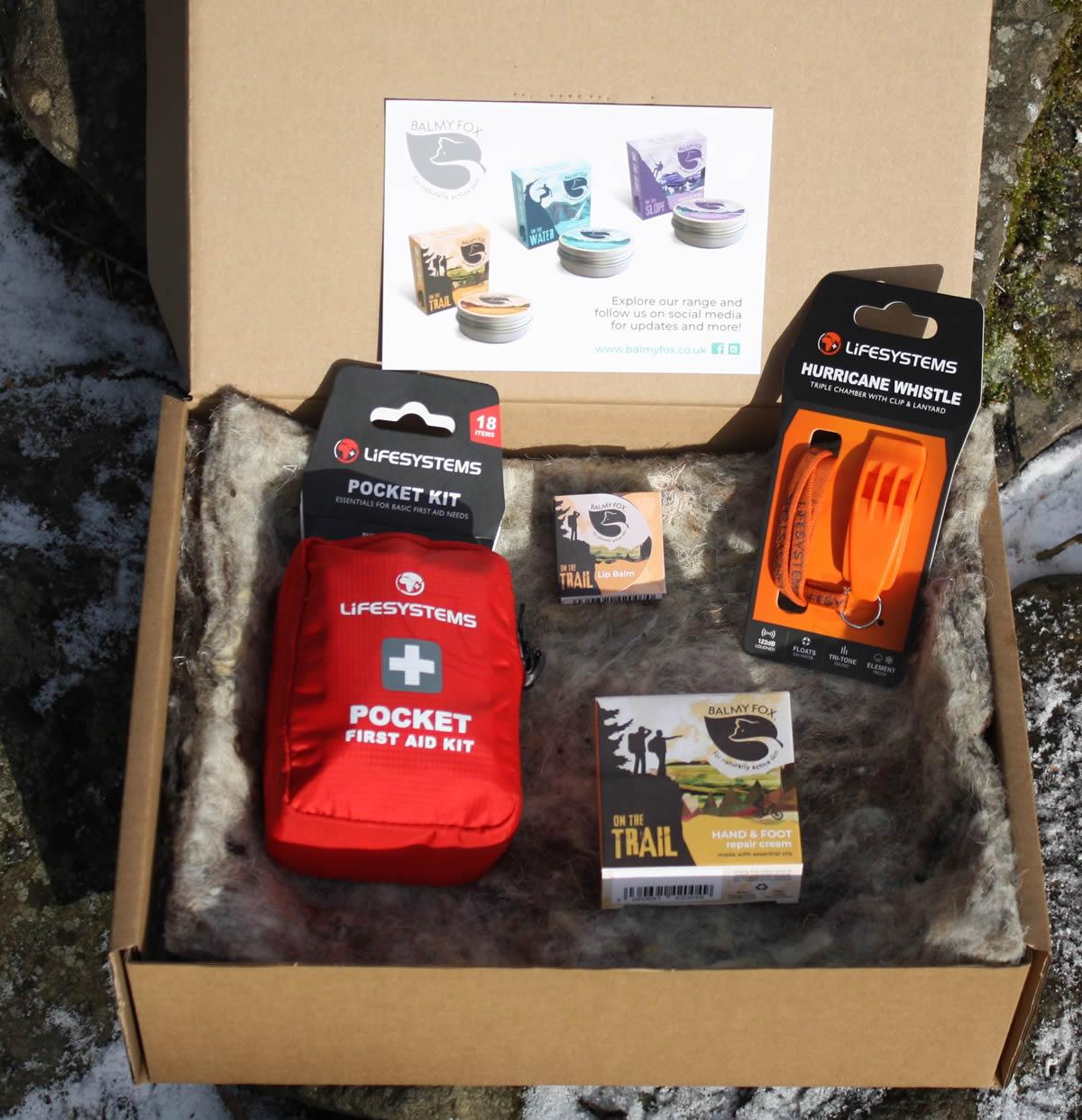 Trail Emergency Pack Gift Set