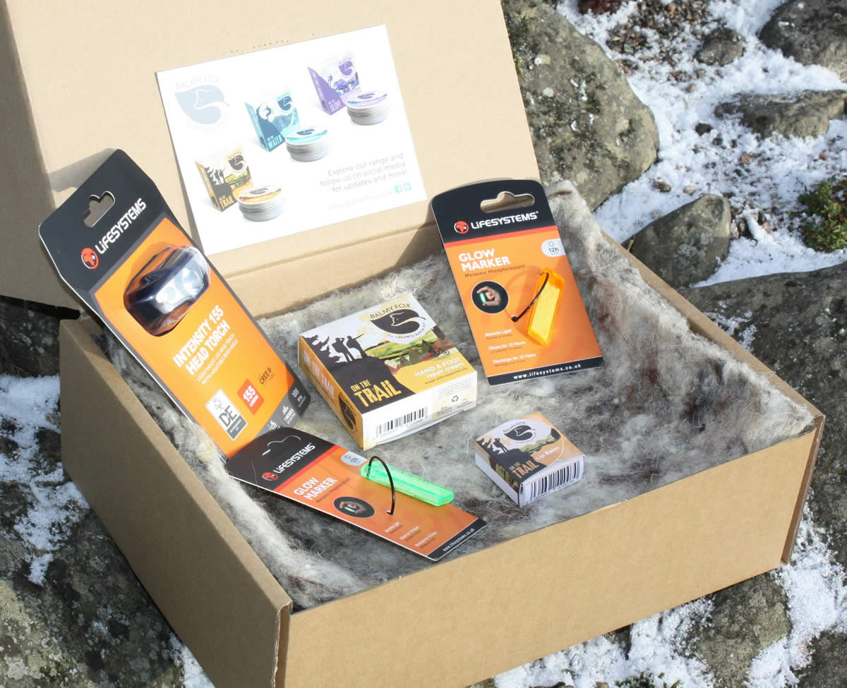 Trail Night Pack Gift Set