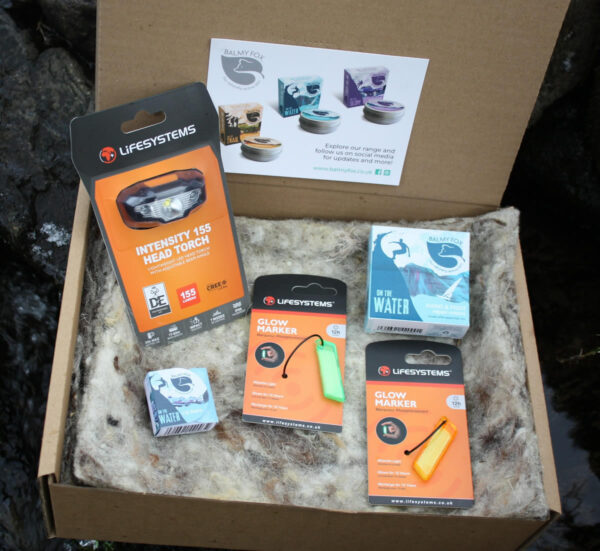 Night pack gift sets for swimmers,sailors,surfers amd kayakersGift Set