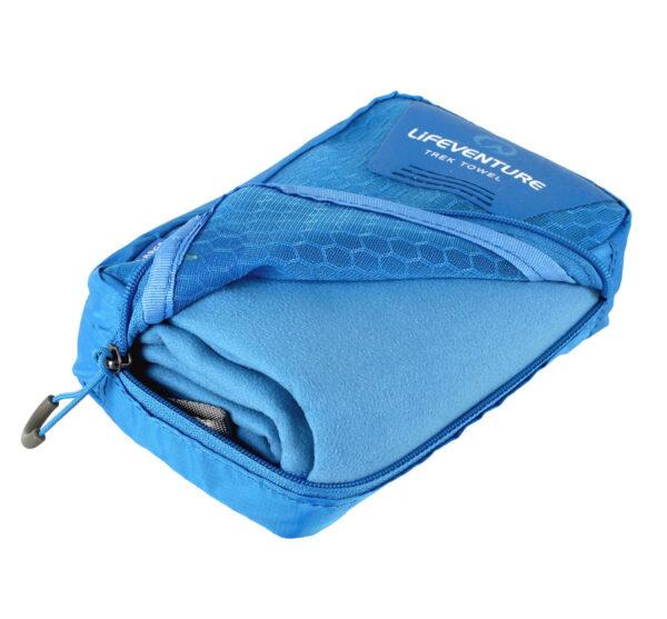 Softfibre Blue Large Bag Open