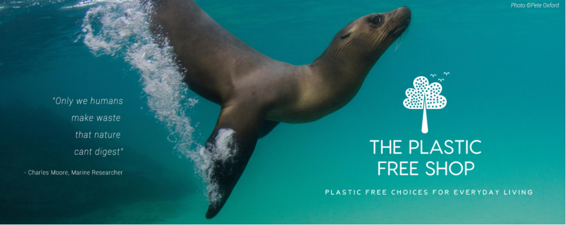 Plastic Free Shop Banner