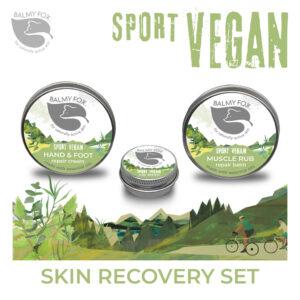 Vegan Skin Recover Set Trio